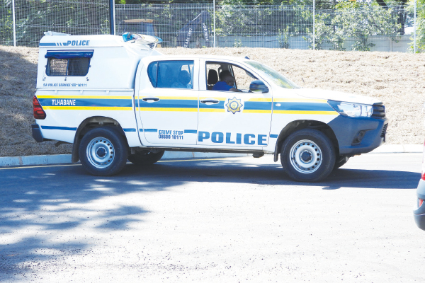 <p>Nowhere to run Robbers cornered in high-speed chase</p>