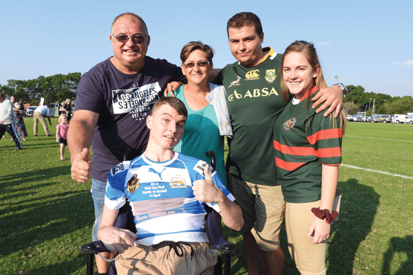 <p>JACO FOURIE<br /> RUGBY DAY, 27 APRIL</p>