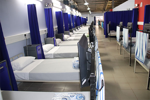 <p>RBPlat opens a 200-bed field hospital in Rustenburg</p>